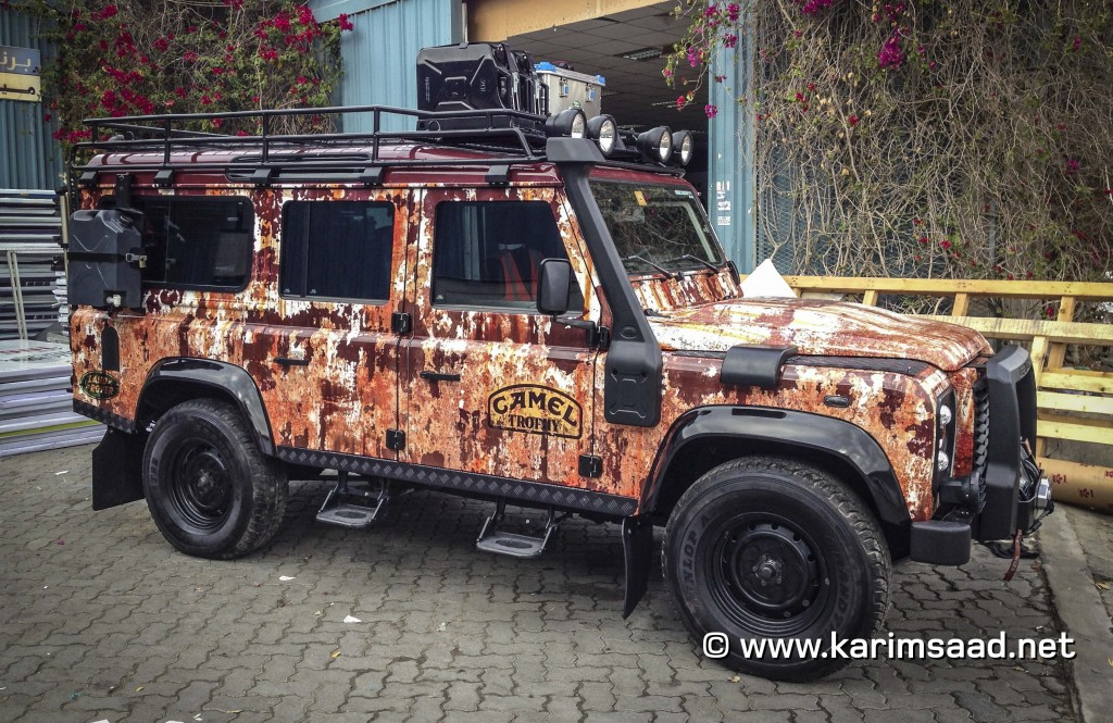 Land Rover Defender 2012 in Rust!